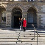 Cynthia Westaway and Patricia Lawrence at CoA in Toronto