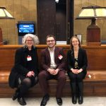 Kerry Young, Tyler Paquette, Leanna Reiss in the Senate, Ottawa